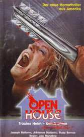 OPEN HOUSE VHS cover
