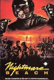 NIGHTMARE BEACH DVD cover